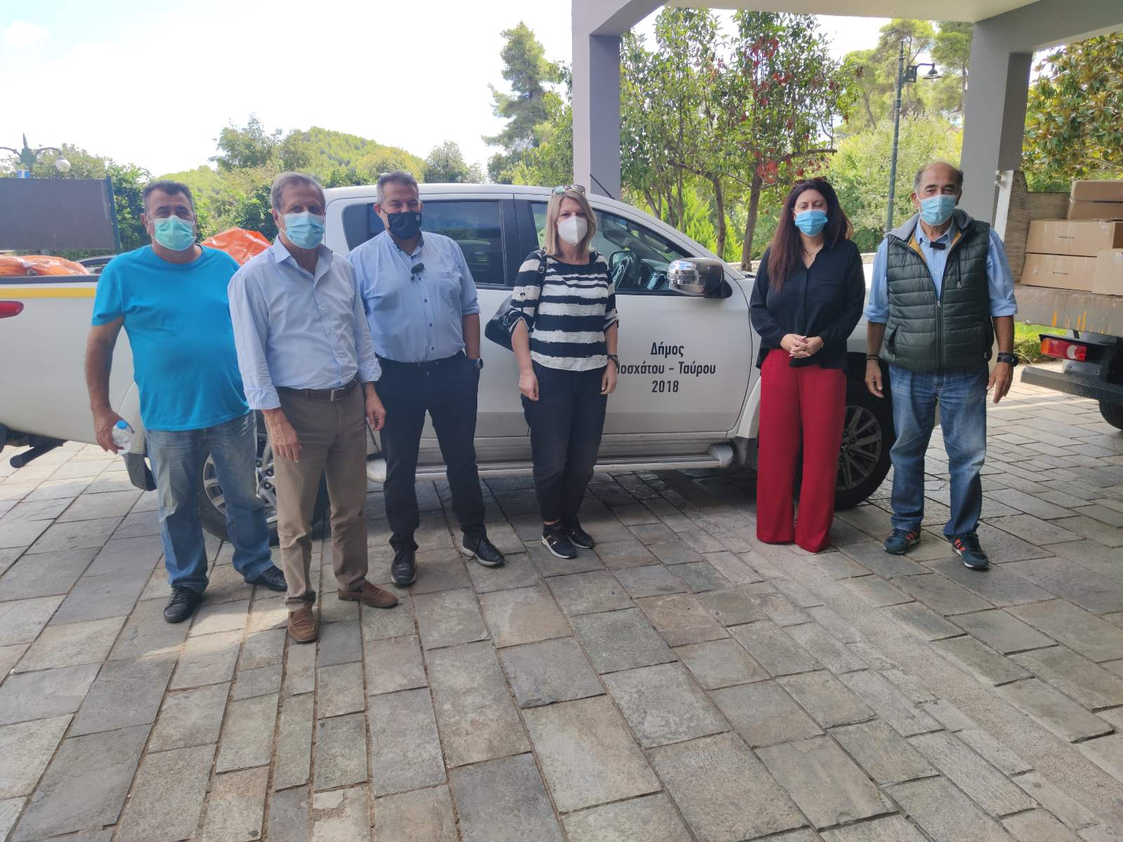 Ο Δήμος Μοσχάτου-Ταύρου απέστειλε σχολικά είδη και είδη πρώτης ανάγκης στους πληγέντες του Δήμου Αρχαίας Ολυμπίας