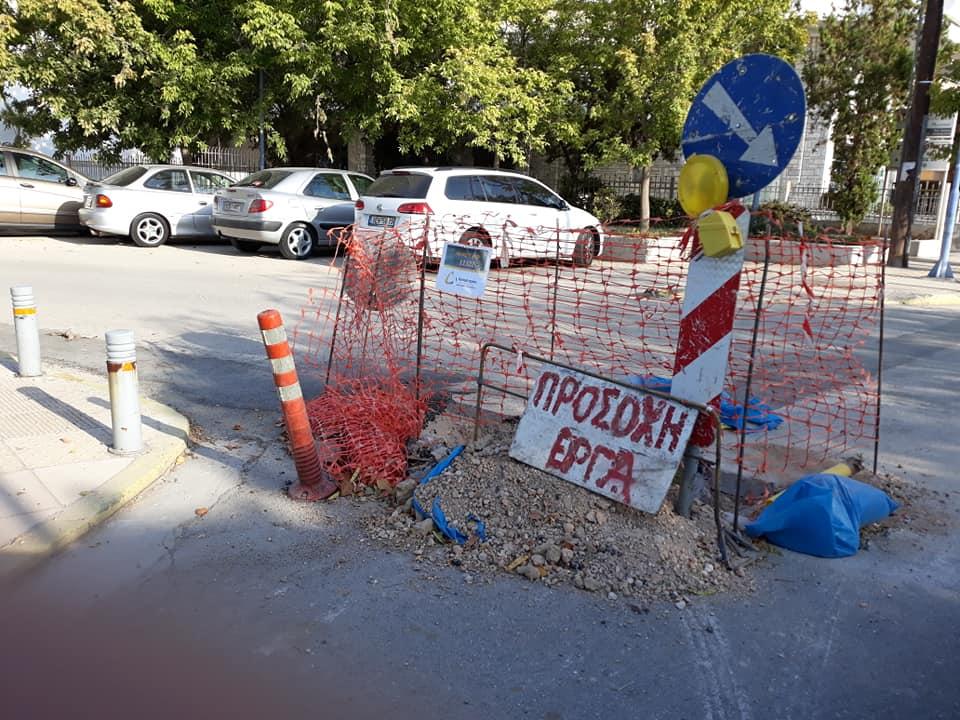 Αντώνης Μπούτσης για τα προβλήματα στους δρόμους της πόλης, λόγω έργων.